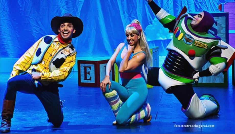 El musical The Toy Story para toda la familia en Málaga